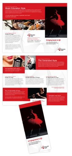 adobe tri fold brochure template - environmental protection business card letterhead