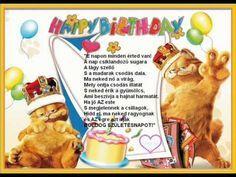 """Képtalálat a következőre: """"18. szülinapi köszöntő"""" Birthday Frames, Winnie The Pooh, Birthdays, Cocktails, Happy Birthday, Lily, Christmas Ornaments, Holiday Decor, Cake"""