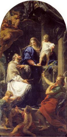 The Athenaeum - The Virgin and Child with Saint John Nepomuk (Pompeo Batoni - )