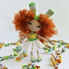 Куклы KotiKo_toys @kotiko_toys Зайка с зелёными ...Instagram photo   Websta (Webstagram)