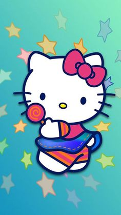 Hello Kitty Wallpapers For Iphone Sanrio Hello Kitty, Hello Kitty Fotos, Hello Kitty Imagenes, Hello Kitty Backgrounds, Hello Kitty Wallpaper, Wallpaper Iphone Cute, Mobile Wallpaper, Kawaii Cute Wallpapers, Hello Kitty Clothes