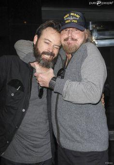 Photo of Barry Gibb & his  Son  Steve Gibb