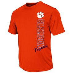 Men's Campus Heritage Clemson Tigers Rushing II Tee