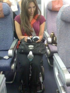 Airplane inaccessibility: Unjust or a safety measure? ~This happens for manual wheelchairs as well. They put me in an aisle chair that I cannot push, Trapped for the duration of flight. I walk badly a lil' w/ crutches, but this is neither safe not smart. I honestly hate the whole experience, but do my best to be friendly and light hearted.