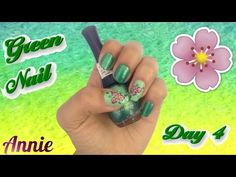 #31 Day Challenge / Day 4 / Green Nail