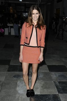 Jade Williams showed us how to wear co-ords at our AW12 Unique show at London Fashion Week! #LFW ##TopshopPromQueen