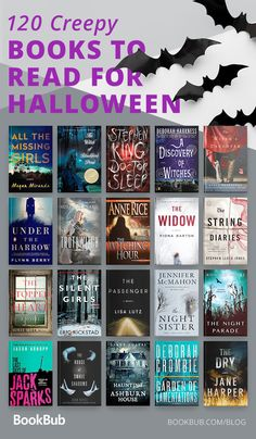 Books to Read for Halloween 120 creepy books perfect for Halloween! Read these scary stories to celebrate the spooky creepy books perfect for Halloween! Read these scary stories to celebrate the spooky holiday Best Books To Read, I Love Books, My Books, Great Books, Book Suggestions, Book Recommendations, Book Club Books, Book Lists, Reading Lists