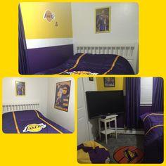Awesome Lakers/Kobe Teen Room