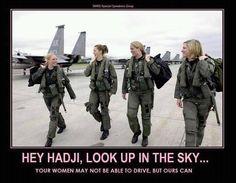 Military Women!