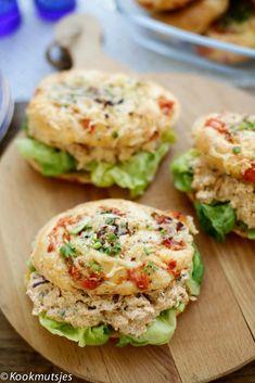 Bruschetta Recept, Ramadan Recipes, Ramadan Food, Savoury Baking, Salmon Burgers, Vegan Vegetarian, Brunch, Good Food, Healthy Recipes