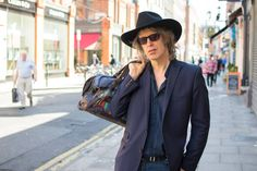 """""""I'm the singer and songwriter of the Waterboys. I'm kind of famous… Well, probably not in your age group, you're too young. Singer, Blazer, Portrait, Dublin, People, Photographs, Age, Group, Collection"""