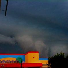 Storm brewin' - Newington NH - photo by MMaple
