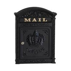 Victorian Mailboxes, Antique Mailbox, Wall Mount Mailbox, Mounted Mailbox, Newlywed Gifts, Old World Charm, Victorian Fashion, Home Furnishings, Bulb