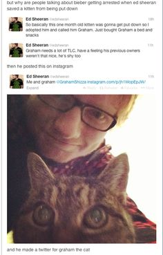 Lets just take a moment on how Ed Sheeran is perfect?