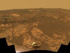 NASA - 'Matijevic Hill' Panorama for Rover's Ninth Anniversary