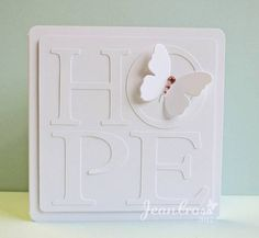 Hope, Simply by naturecoastcrafter - Cards and Paper Crafts at Splitcoaststampers