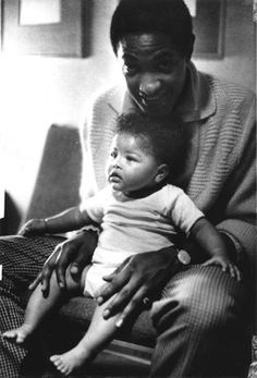 Son of music legend Sam Cooke. Vincent, a toddler, drowned in the family swimming pool after wandering outside and falling in. A young life taken far too soon. Music Icon, Soul Music, Music Is Life, Music Songs, Sam Cooke, Black Love, Black Is Beautiful, Black Art, Black Fathers