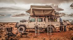 Land Rover Defender 130 Td5 Adventure Traveling the World—and Raising Two Kids—in a 2003.