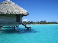 A week in Bora Bora. No need to pack anything other than your bathing suit!