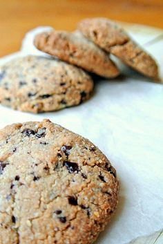 gezonde chocolate chip cookies