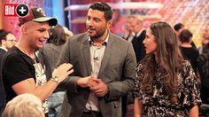 Am Sonntag sind Sarah und Pietro noch einmal gemeinsam im TV zu sehen. Bei der Aufzeichnung standen die Zeichen noch auf heile Welt … Foto:…