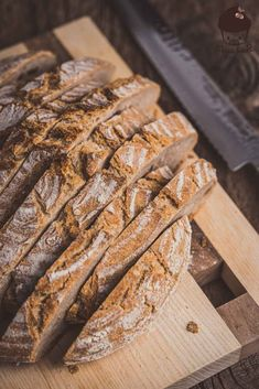 5 minutes DINKELBread - Baking a delicious bread with only 5 minutes of work, long-lasting, aromatic, healthy, fluffy crumb - A Food, Food And Drink, Whole Grain Flour, Bread Ingredients, Bread Baking, Bread Recipes, Clean Eating, Lunch, Healthy