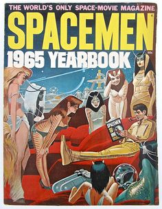 Spacemen 1965 Yearbook Magazine by worldvintage on Etsy