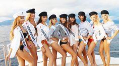 Miss Monaco Photoshoot | Zelo's Monaco & Sensei Yacht