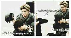 For people who think kris didnt interact with the group.