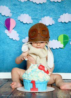 New birthday cake boys airplane ideas Planes Birthday, 1st Birthday Cake Smash, Baby Boy First Birthday, 1st Birthdays, 1st Birthday Parties, 2nd Birthday, Birthday Ideas, Time Flies Birthday, First Birthday Pictures