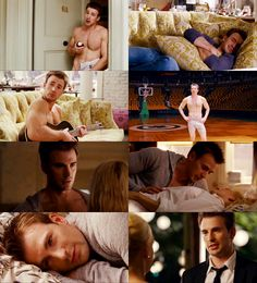 Chris Evans in What's Your Number. He is absolutely perfect in this movie!!!
