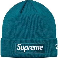 Supreme 슈프림 [Supreme] Supreme X New Era® Box Logo Beanie Teal Lazy Outfits, Outfits With Hats, Cool Outfits, Fashion Outfits, Men's Beanies, Beanie Hats, Streetwear Hats, Supreme Hat, Beanie Outfit
