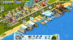 Sunshine Bay is a Facebook based social game, city builder and management game, free to play on Facebook, from Game Insight.