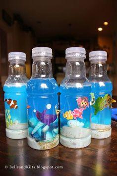 Under the sea sensory bottle sensory bottles, ocean crafts, sensory activities, toddler crafts