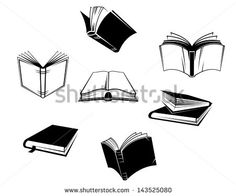 open book clipart black and white cliparts co ideas pinterest
