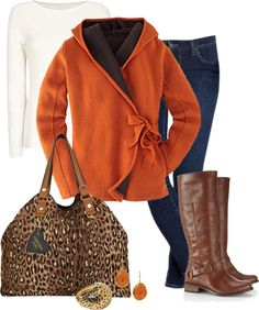 """Fall Jungle"" by happygirljlc ❤ liked on Polyvore"