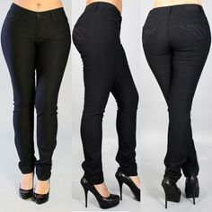 Jeans for tall curvy women. Yes!