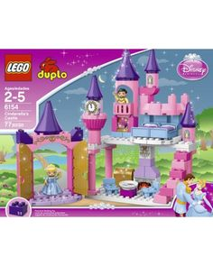 What girl wouldn't love to play Cinderella AND LEGOs at the same time? Click above to buy the castle set.