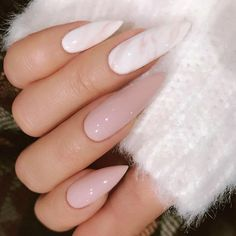 """6,773 Likes, 33 Comments - TheGlitterNail Get inspired! (@theglitternail) on Instagram: """"✨REPOST - - • - - Peach and Grey with lots of Crystals on long Stiletto Nails ✨ - - • - - …"""" #stilettonails"""
