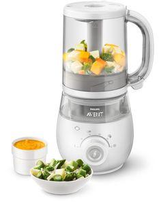 Philips AVENT 4-in-1 Babynahrungszubereiter - Dampfgarer und Mixer