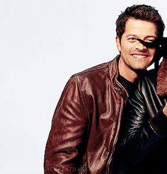Misha: I've got a cat ass in my face?! Well ok then.