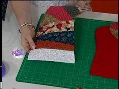 Carolina Rizzi - Bienvenidas TV - Realiza en patchwork una Bota Navideña.