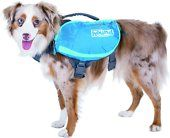 Explore new ground with Outward Hound Gear! Their high-quality performance gear will keep your pup safely equipped for every new adventure! The DayPak is a day-tripping dog lovers delight that allows your pup to comfortably carry extra gear and essentials! A light-capacity pack featuring a saddlebag-style design, it's ideal for both quick getaways and everyday errands with your dog. Enjoy the convenience and storage space of 4 expandable pockets and, when you're ready to roll, simply attach…