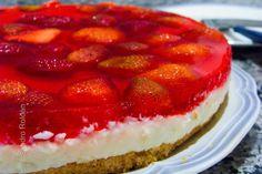 Torta de morango fantástica