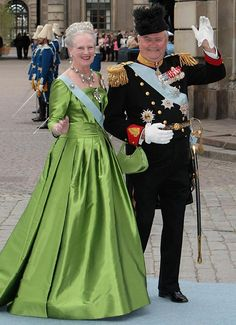 Queen Margrethe II of Denmark, and Henrik, Prince Consort of Denmark