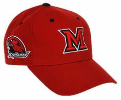 Miami Ohio Redhawks Adult Adjustable Hat ,Red by Top of the World. $13.82. Team name on the backstrap. Conference mark on the side. Velcro backstrap closure. Team color adjustable wool hat. Primary 3D logo on the front. NCAA Miami Ohio Redhawks Adult Adjustable Hat. Save 14%!