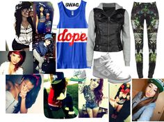 """""""""""Gurls With Swag & Style"""" :)"""" by aliciarangel ❤ liked on Polyvore"""