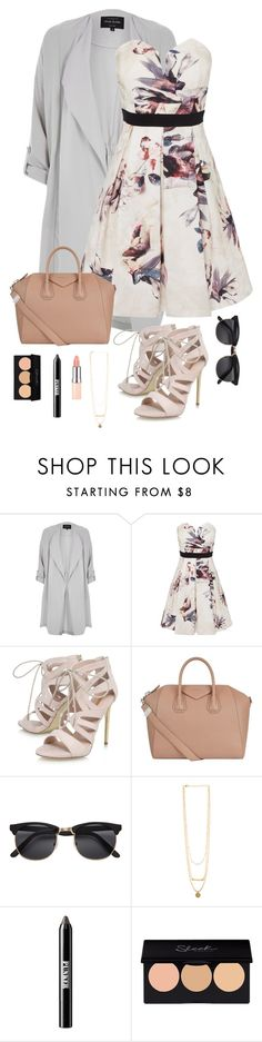"""Untitled #554"" by kira-mckee on Polyvore featuring River Island, Little Mistress, Carvela, Givenchy and Ardency Inn"