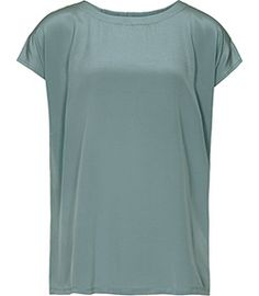 Dhalia Baltic Blue Silk Top - REISS. Great color