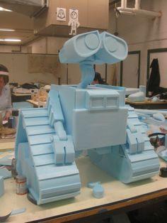 Big Blue Foam Wall-E by Andrew Morgan at Coroflot.com